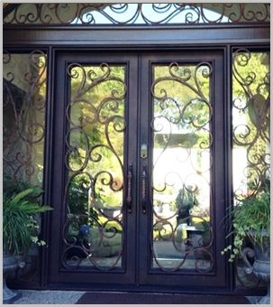 Signature Iron Doors Seattle the nation\u0027s leading manufacturer of exceptional custom iron doors and ornamental wrought iron garage doors. & Seattle Iron Entry Doors | Doors | Pinterest | Seattle Iron and Doors