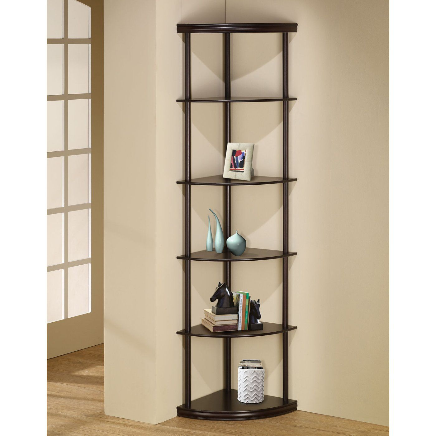 Shop Coaster Fine Furniture 800279Ii Corner Shelf At The Mine