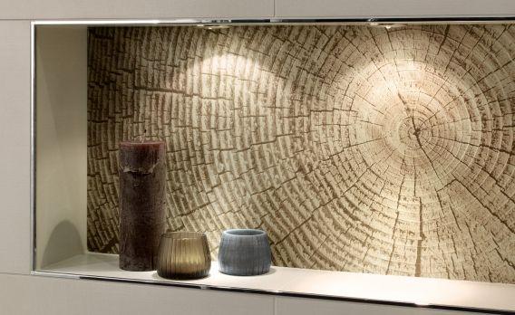 Fliesen mit holz lampe leuchte wei kunststoff modern for Lampe modern wohnzimmer