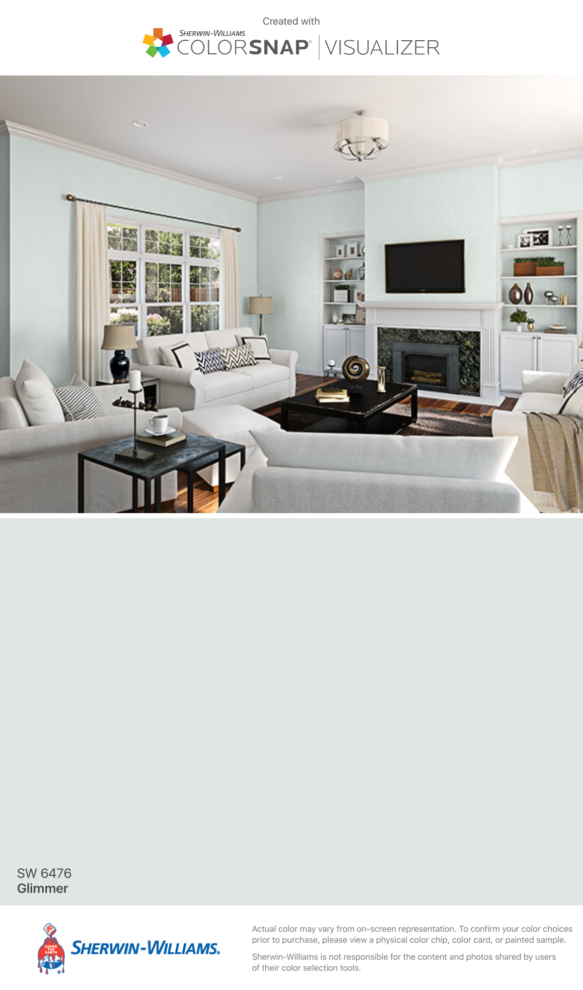I Found This Color With ColorSnap® Visualizer For IPhone By  Sherwin Williams: Glimmer