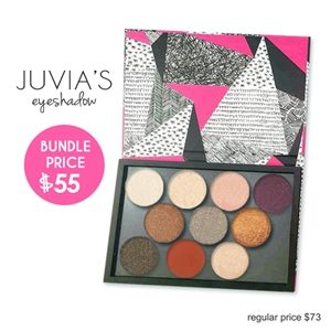 Juvia's Single Eye shadow Bundle Deal(Low Stock Alert)