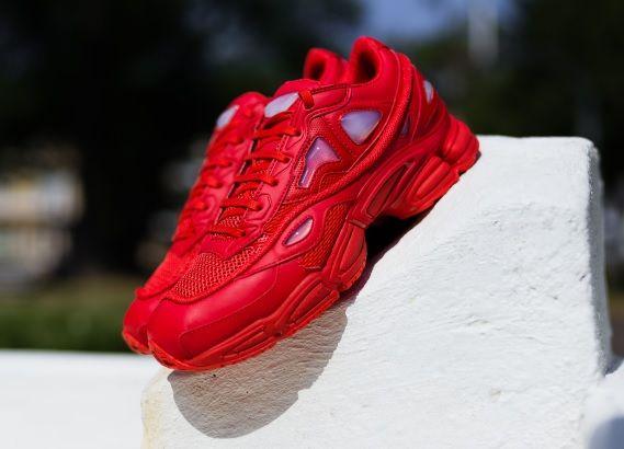 new concept 771dd e5d57 Raf Simons x adidas Osweego 2  Red
