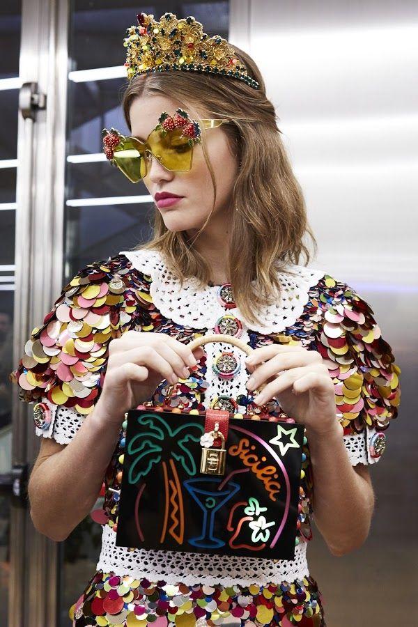 Dolce & Gabbana SS17 Backstage