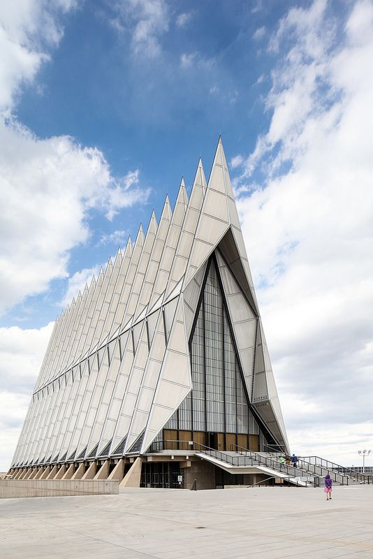 ˚US Air Force Cadet Chapel - SOM - Colorado