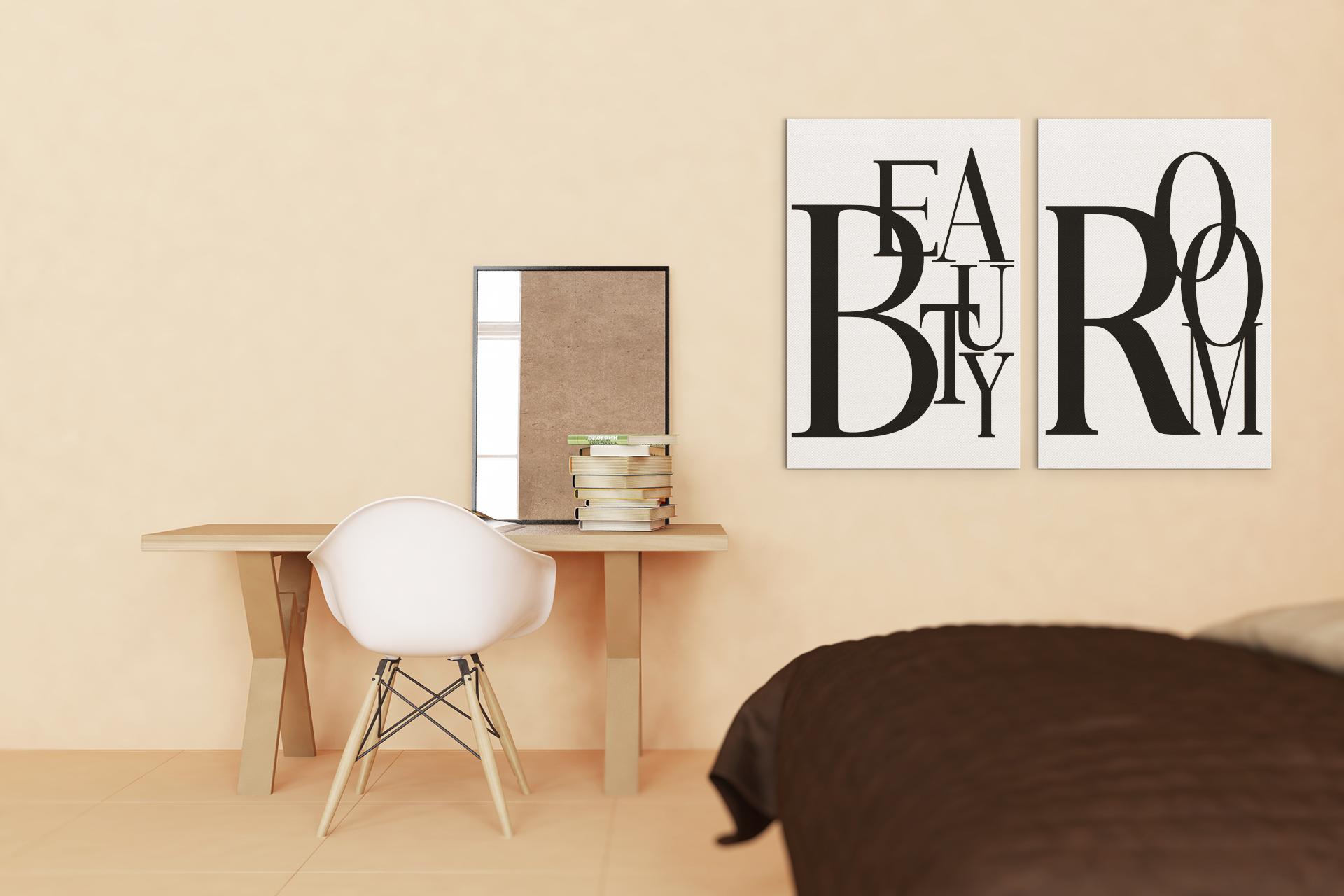 Powder Room Printable Sign Modern Wall Art Home Decor Beauty Etsy In 2021 Modern Wall Modern Wall Art Glam Wall Art