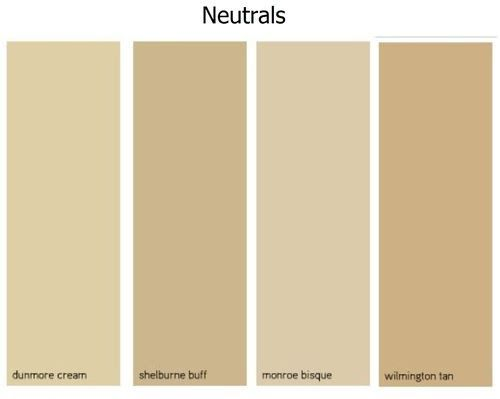 Beige color chart home decor and design exploring wall for Benjamin moore creamy beige