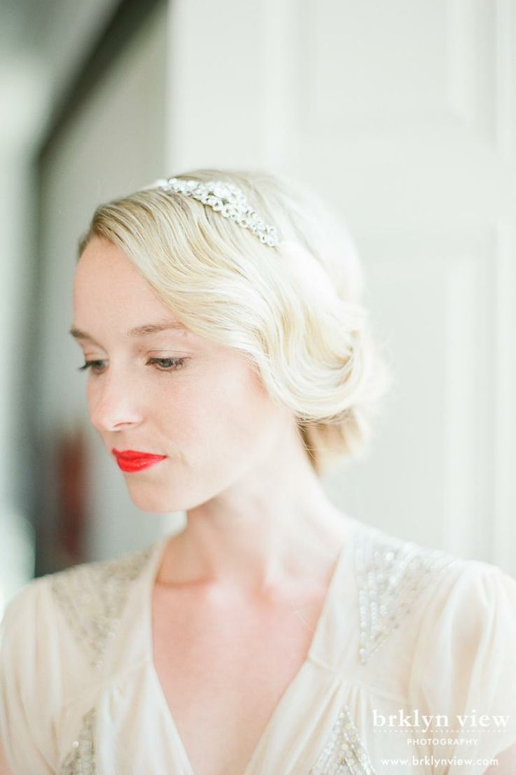 Wedding hair with 30\'s waves | Wedding hair | Pinterest | Elopements ...