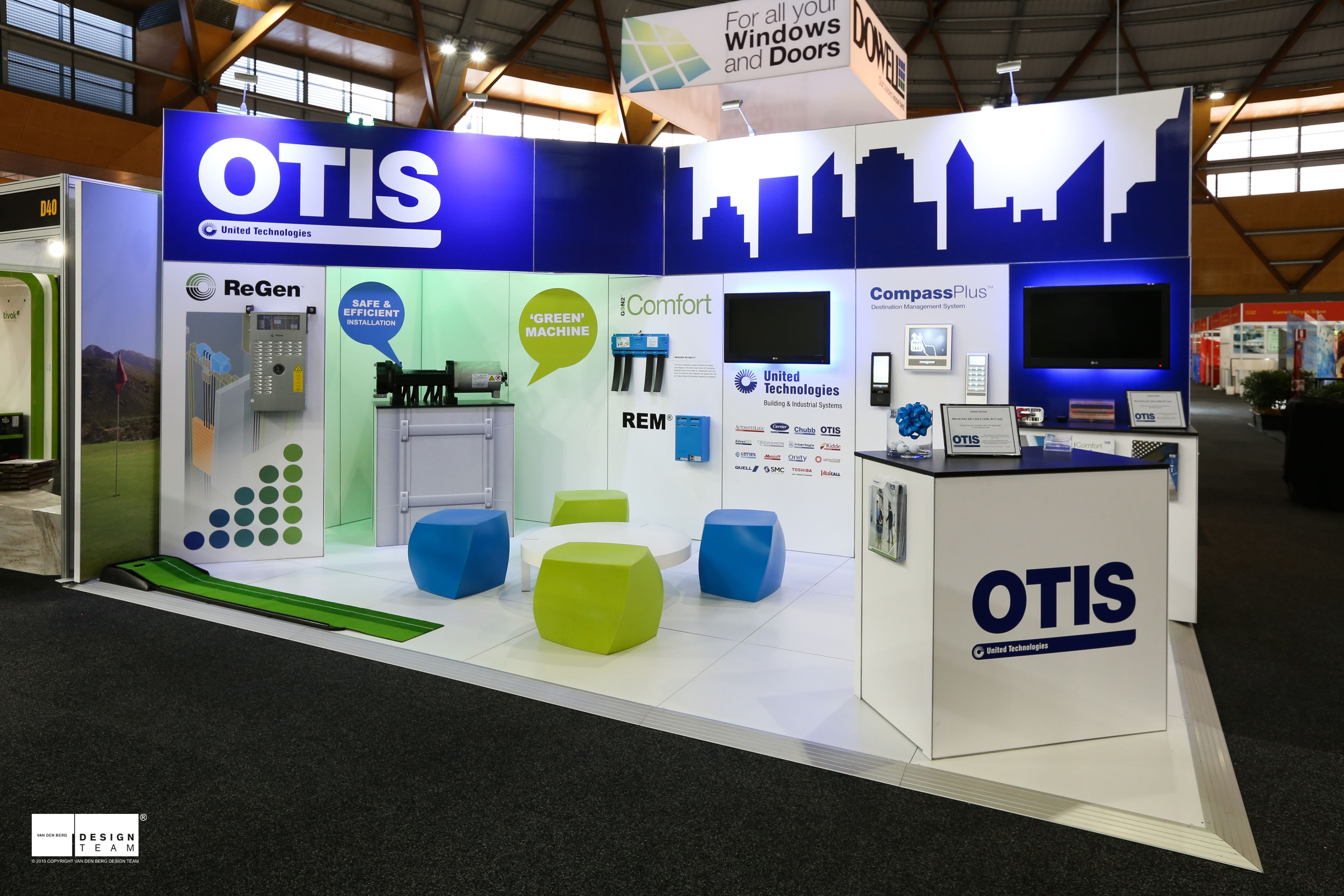 OTIS LIFTS @ DESIGNBUILD Otis introduces their wide range of people moving technology to building planners and designers