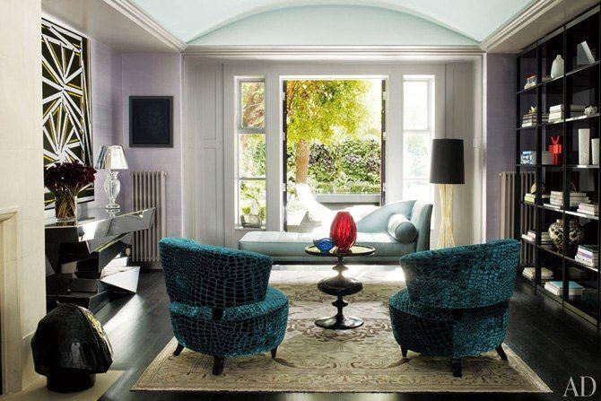 Rafael de Cárdenas Decorates a London Mansion : Architectural Digest. Interior design
