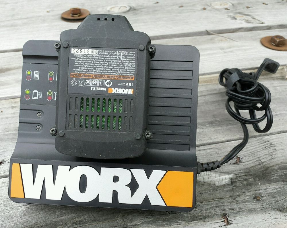 Worx WA3838 Li-Ion Battery Charger For 14 4V-18V Battery Pack (See