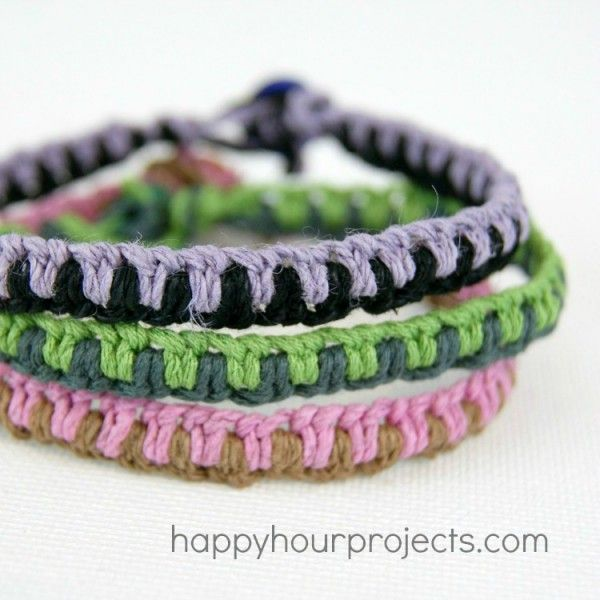 Macrame Friendship Bracelets and an Amazon Giveaway Friendship