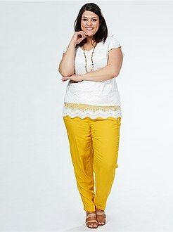 Ropa Barata En Tallas Grandes De Mujer Kiabi Moda Ropa De Tallas Grandes Ropa Barata