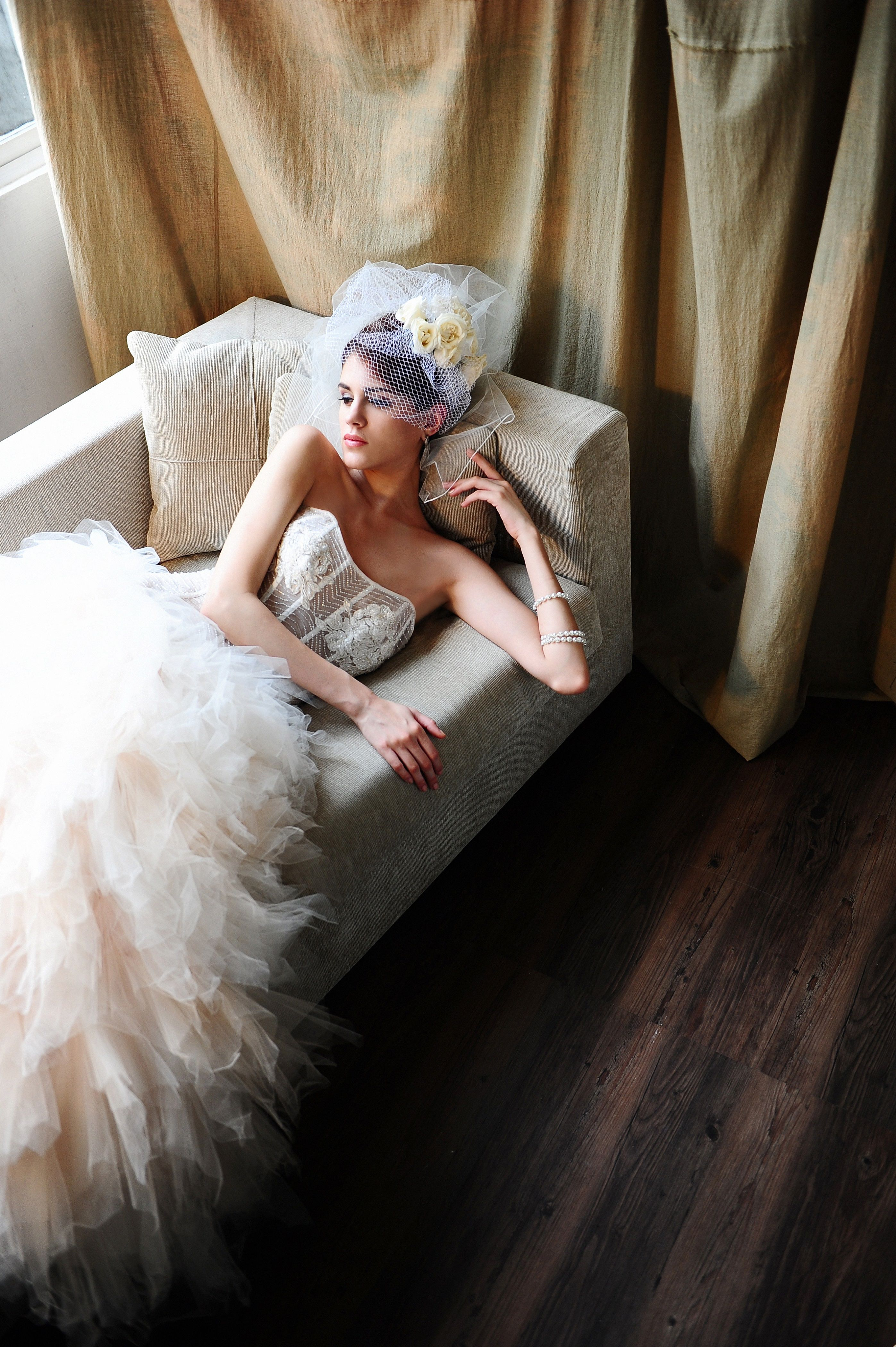 Our beautiful santiago wedding gown words donut do it justice