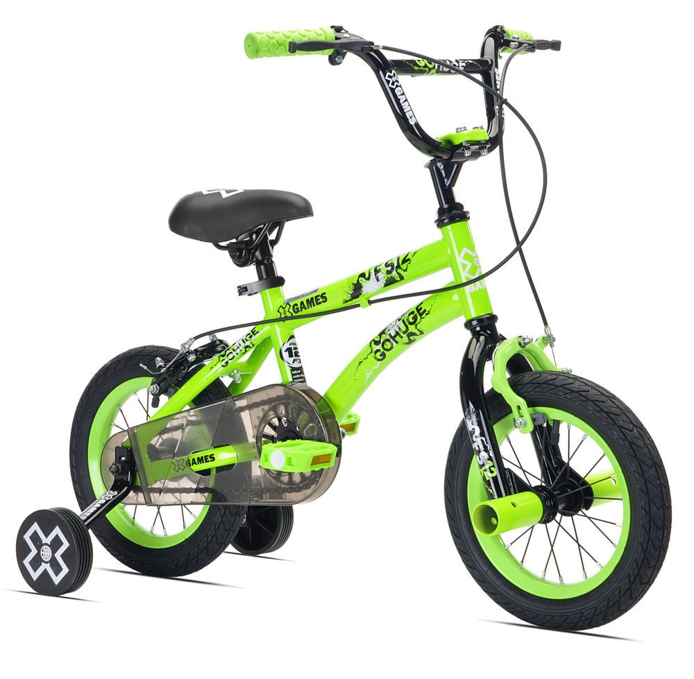 12 Inch Boys BMX Bike XGames Bicycles Kids With Training