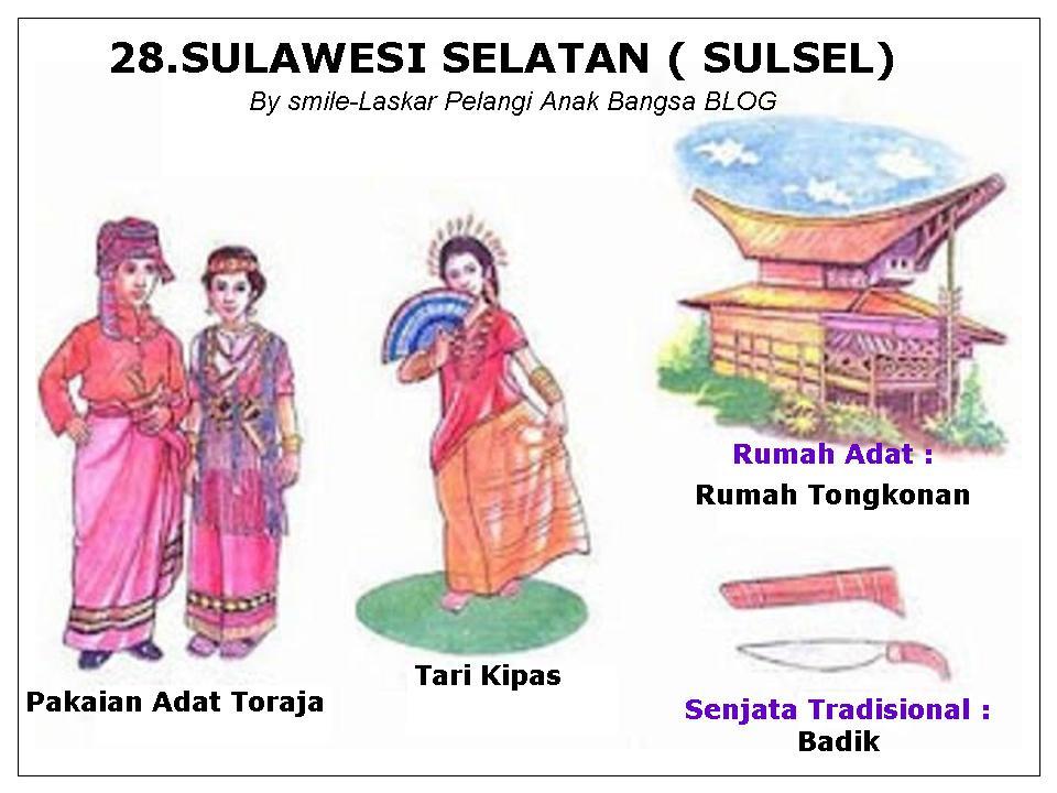 34 Provinsi Di Indonesia Lengkap Dengan Pakaian Tarian Rumah Adat Senjata Tradisional Suku Bahasa Daerah Peta Dan Gambarlaskar P Di 2020 Pakaian Tari Tarian Senjata