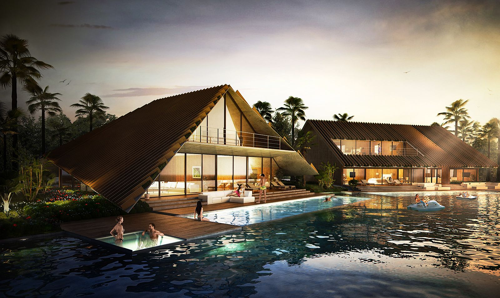 Work for a client thailand resort software 3d studio for Thailand architecture