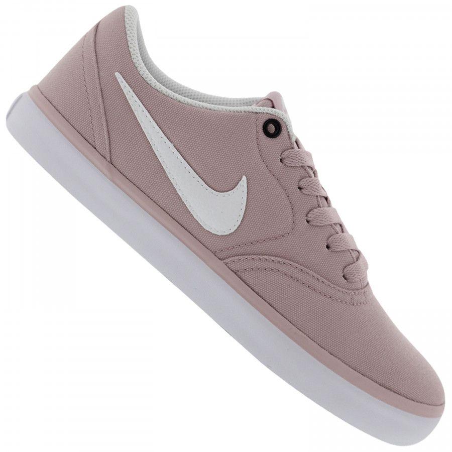 Tenis Nike Sb Check Solar Cnvs Feminino Tenis Nike Sb Check Tenis Nike Sb Sapatos Nike