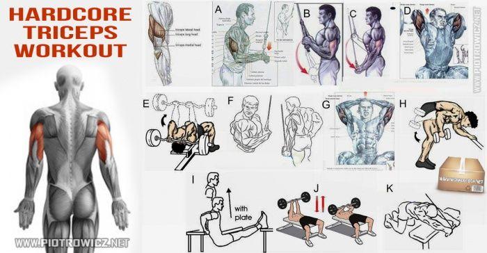 Would Hardcore shoulder workouts