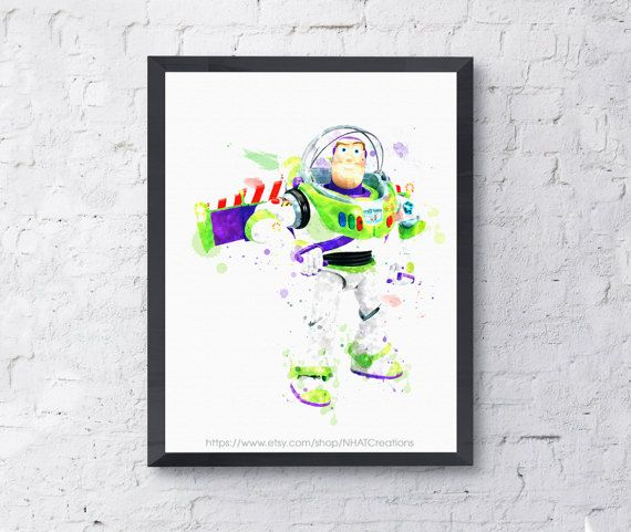 Fan art Toy story buzz light year robot toy by NHATCreations