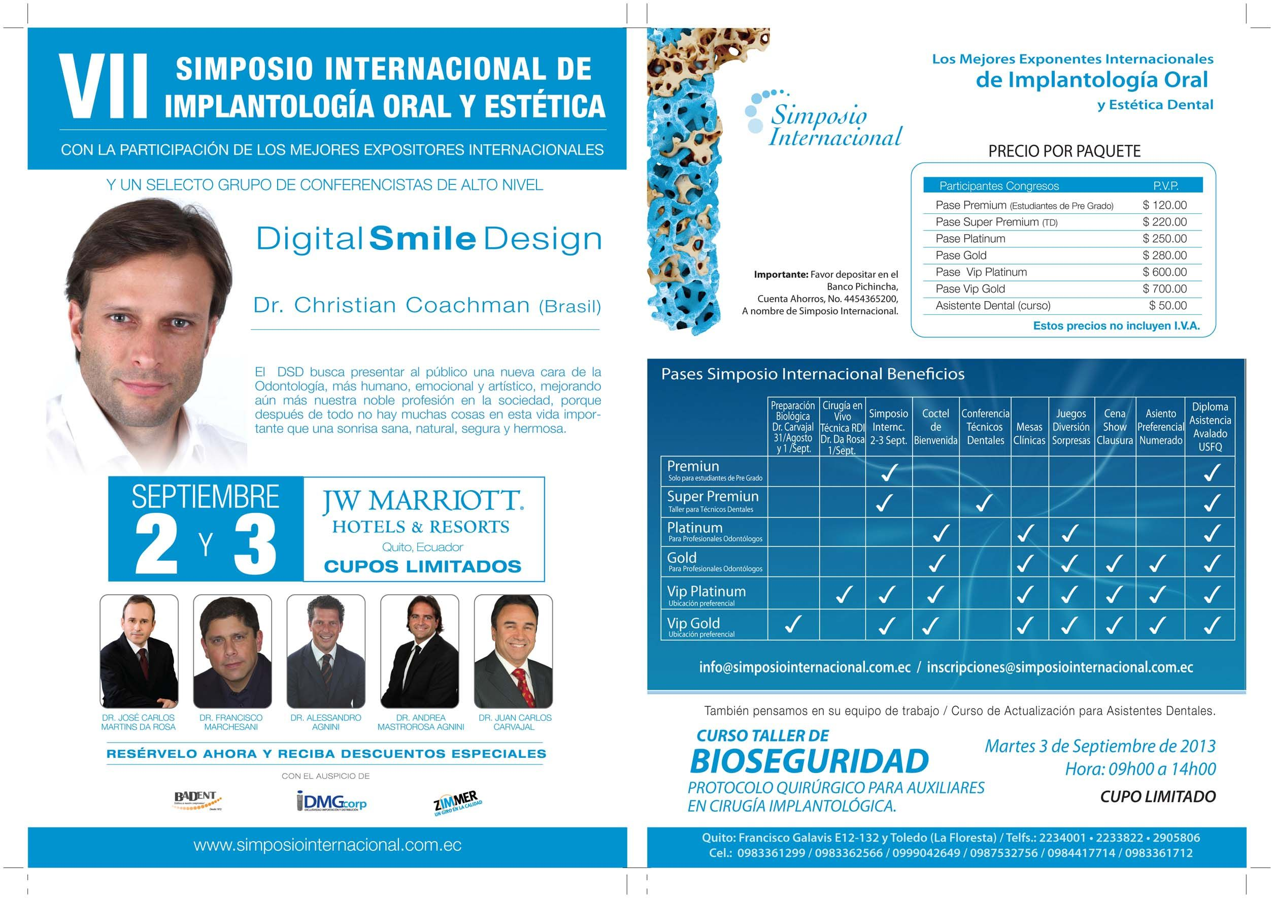 Simposio Internacional | Estetica dental, Disenos de unas ...