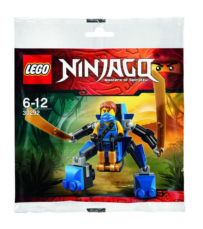 lego ninjago jay nano mech jeu de construction 30292 dans un sac - Jeux De Lego Ninjago Spinjitzu