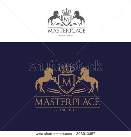 Master Place Boutique Brand Horse Royal Crests King Crown Luxury