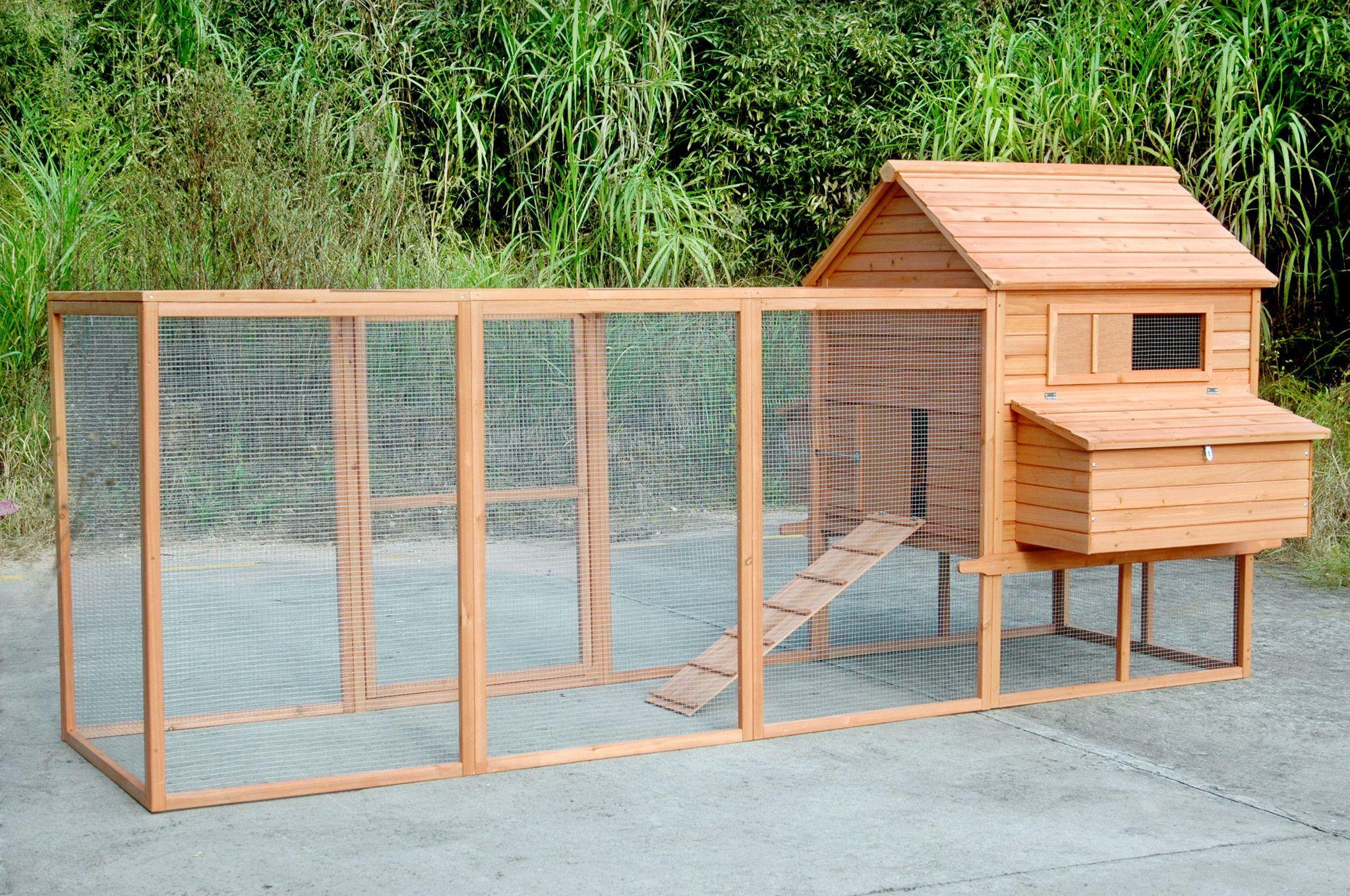 Rhode Island Homestead Xl Chicken Coop And Run Extension 10