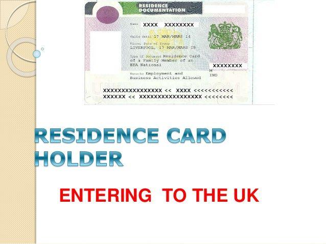 Eea Residence Card Application Http Www Eeavisa Com About Us