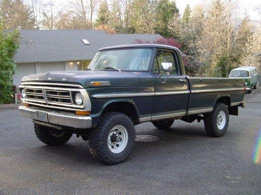 1972 Ford F250 4x4 1972 Highboy Ford Super Duty Trucks 79