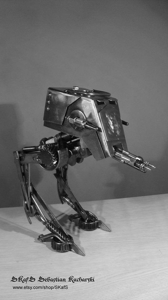 Scrap Metal Art At St Star Wars Scrap Metal Art Metal Art Metal Art Projects