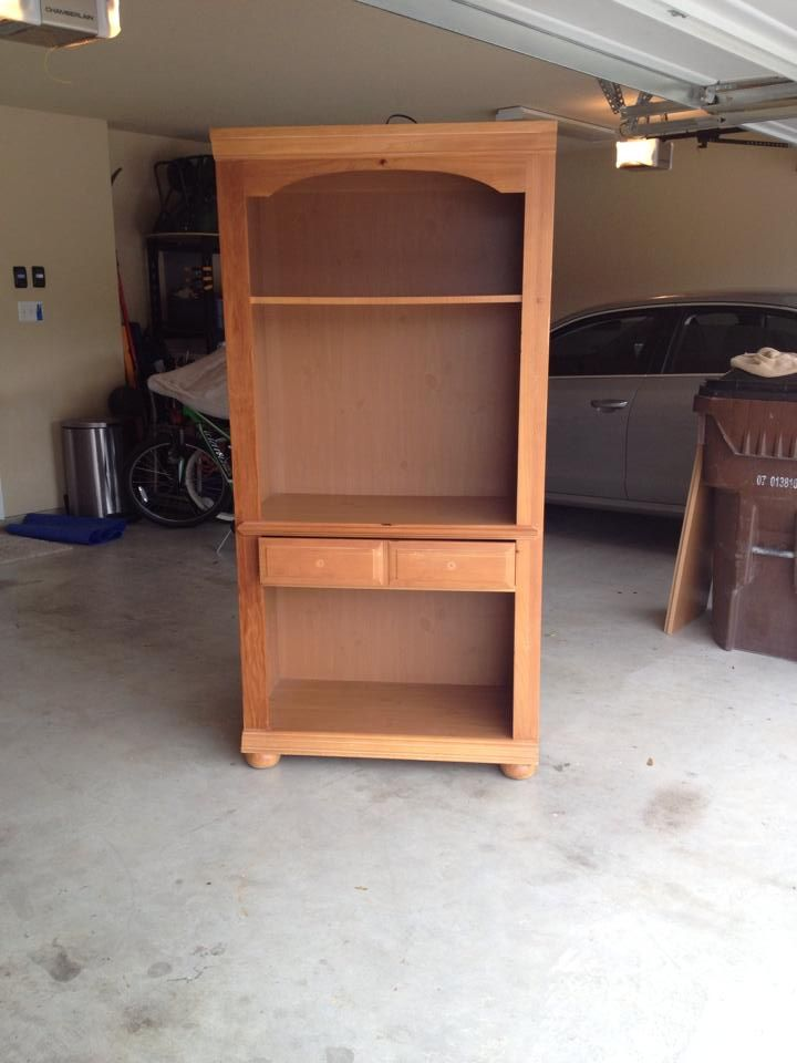 This Is A Broyhill Bookcase I Bought At Garage Thought