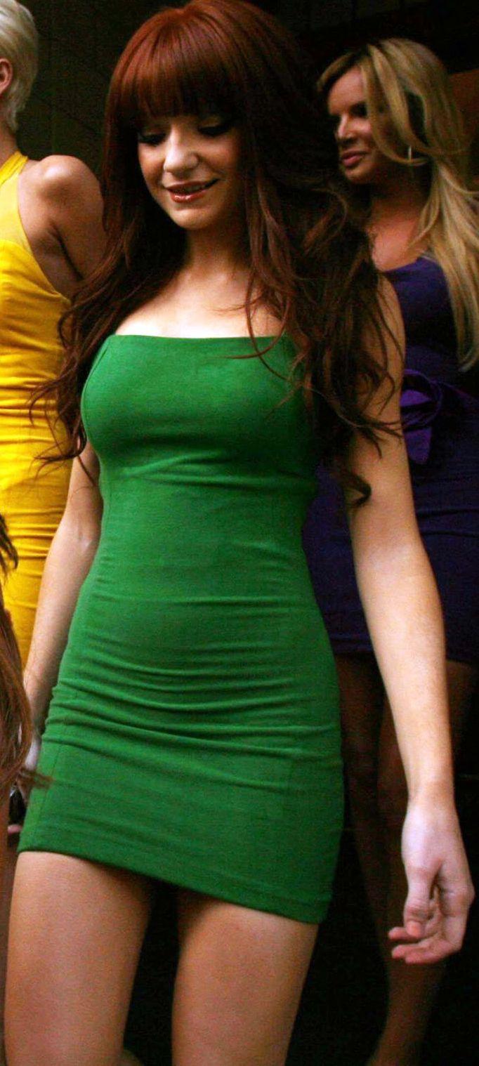 Nicola Roberts - Tight Green Mini Dress (4) | Seriously hot women ...