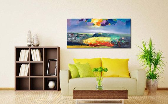 Abstract Art Abstract Painting Large Art Canvas by GeorgeMillerArt ...