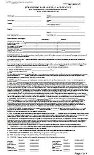 Furnished Lease Agreement At Essential Landlord Rental Forms Page