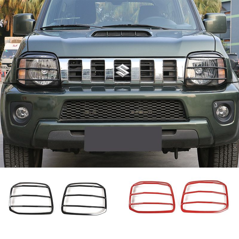 2018 suzuki sierra. wonderful sierra new designs black metal left u0026 right headlight head light lamp cover for suzuki  jimny 07 up front inside 2018 suzuki sierra