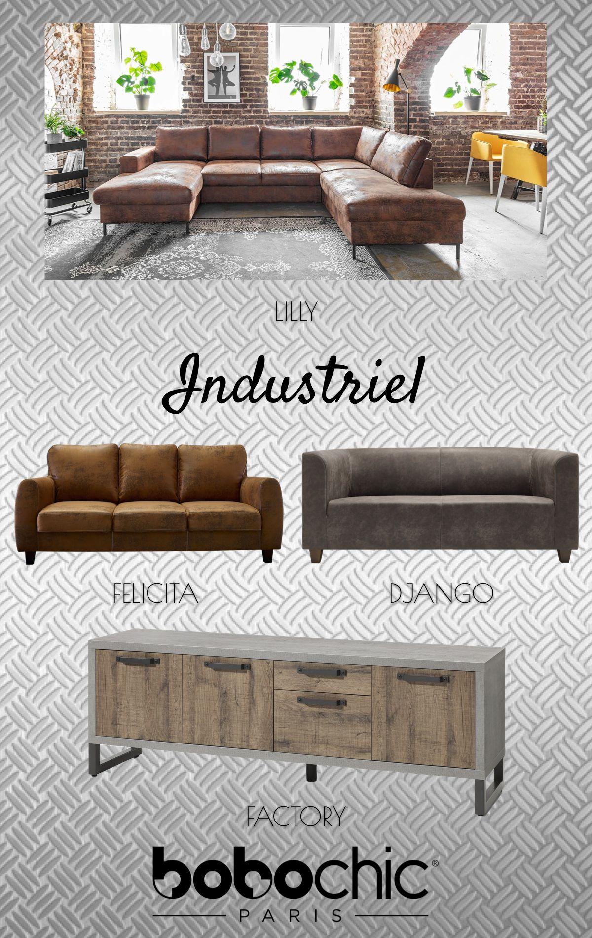 style industriel bobochic mobilier de