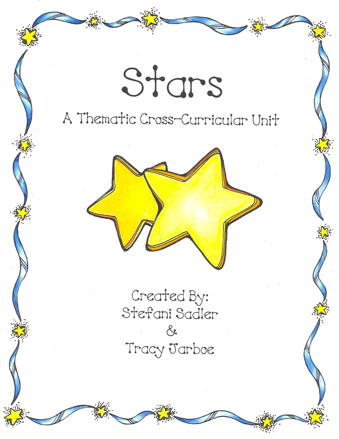 Stars A Thematic Cross Curricular Unit For Prek 2 32