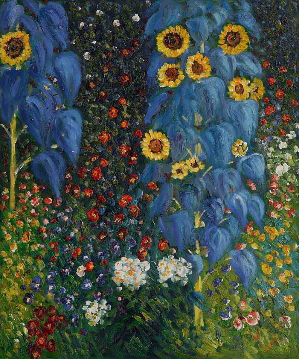 Delicieux Klimt | Farm Garden With Sunflowers, Gustav Klimtu0027s Paintings For Sale On .