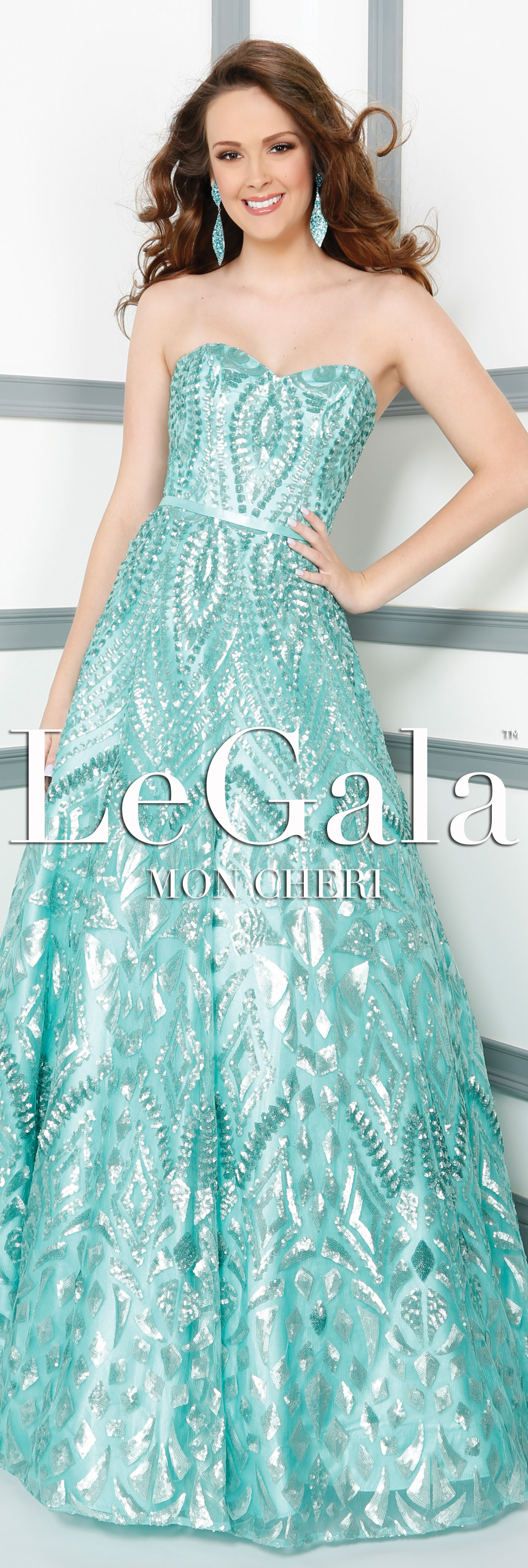 Spring 2016 Prom Dress by Le Gala by Mon Cheri style 116537 ...