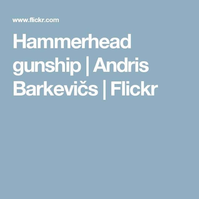Hammerhead gunship   Andris Barkevičs   Flickr
