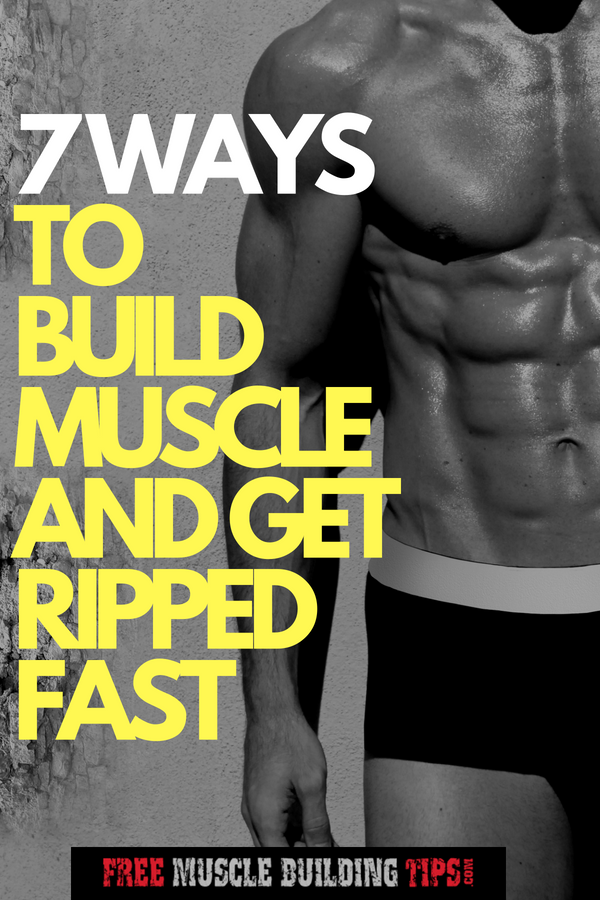 get ripped naturally