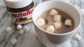 بالصور كيف تصنع شوكولا نوتيلا الساخنة Nutella Hot Chocolate Nutella Hot Chocolate