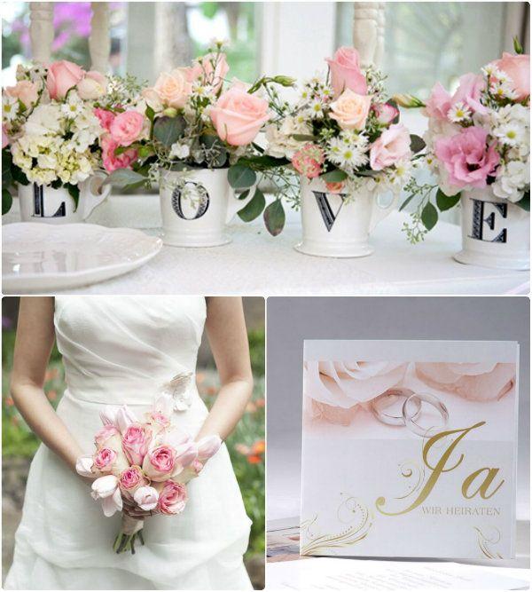 pink Vintage Rose Hochzeitskarten hochzeitsblumen rose