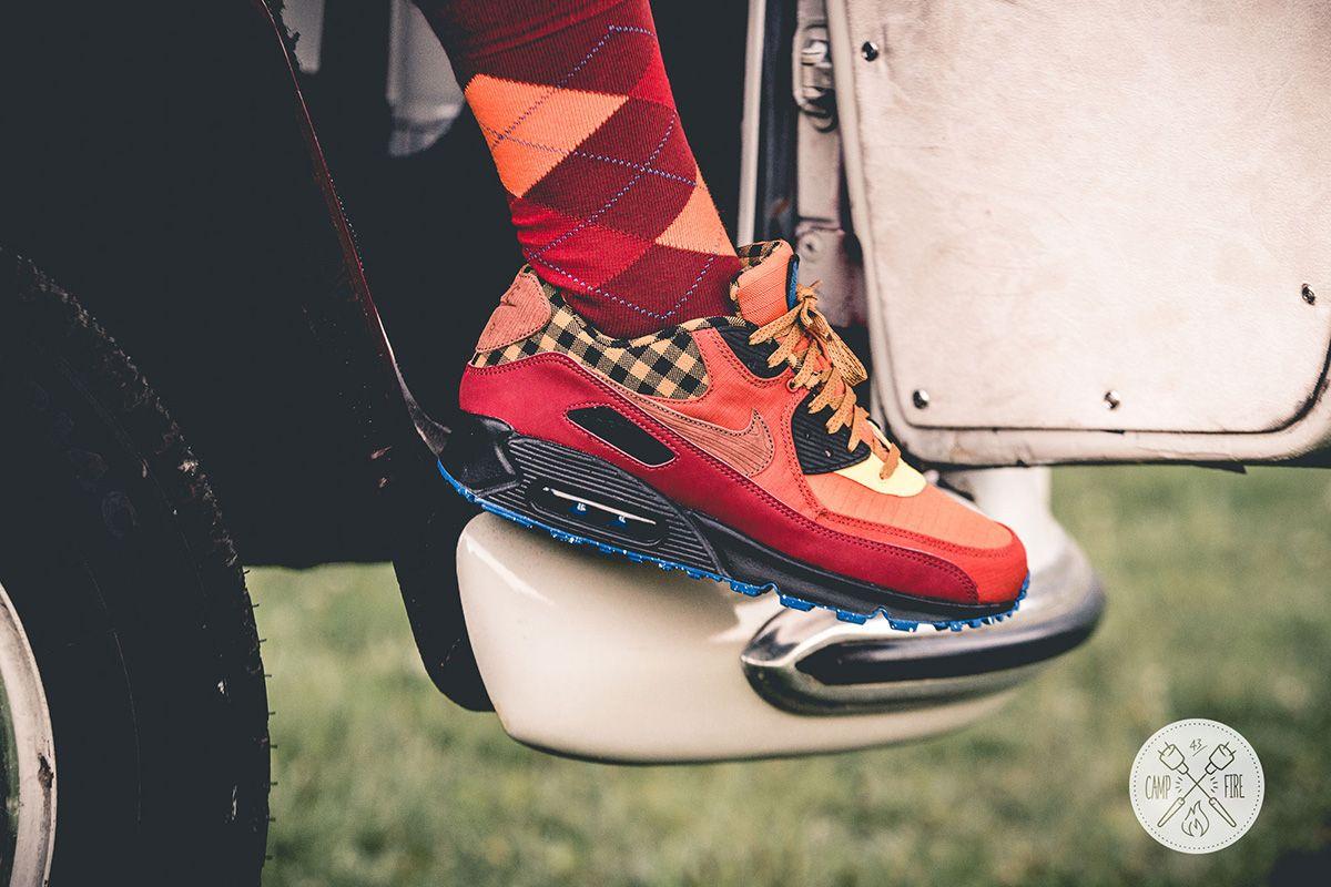 Campfire Kicks: Nike Air Max 90 & Air Huarache   Nike air