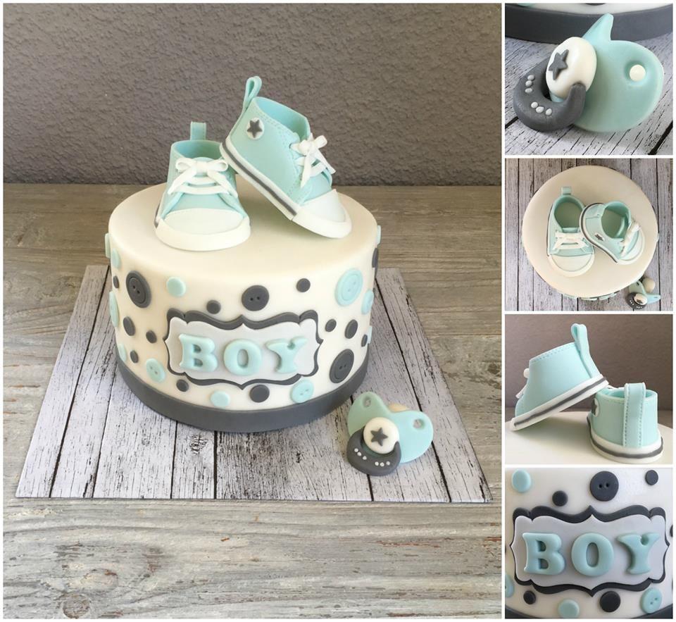 Babyshower taart door Cakes by Elize (facebook.com/elizestaarten)