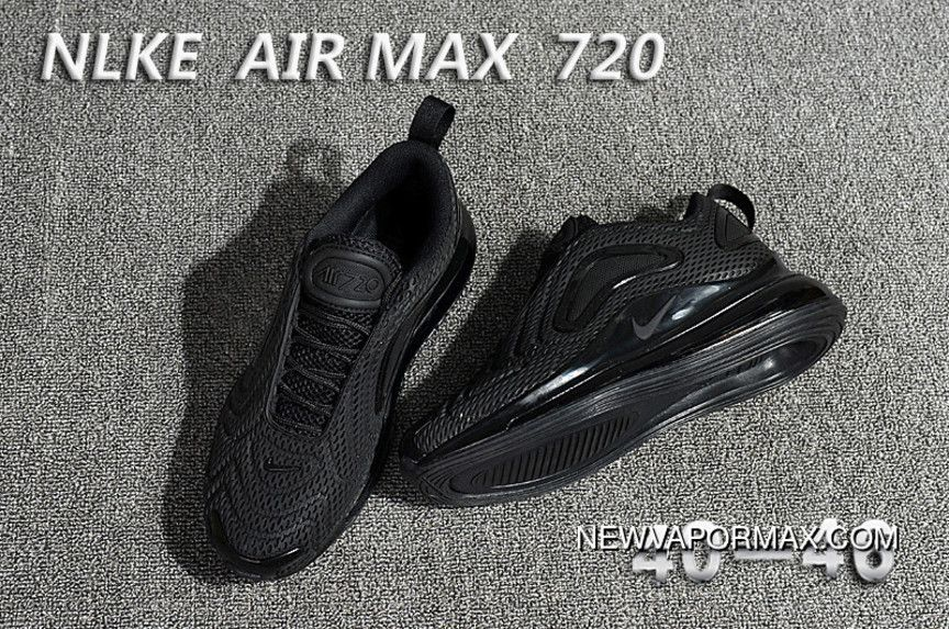 91d4fda61bad Nike Air Max 720 All Black New Year Deals in 2019