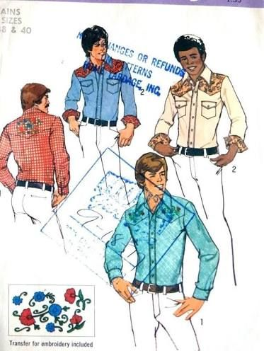 Western Shirt Sewing Pattern Sewing Room Pinterest Sewing