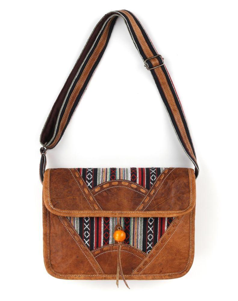 Gucci C.1970s Brown Gg Monogram Jacquard Tan Leather Flap Top Shoulder Bag Rare jicWlBJqEc