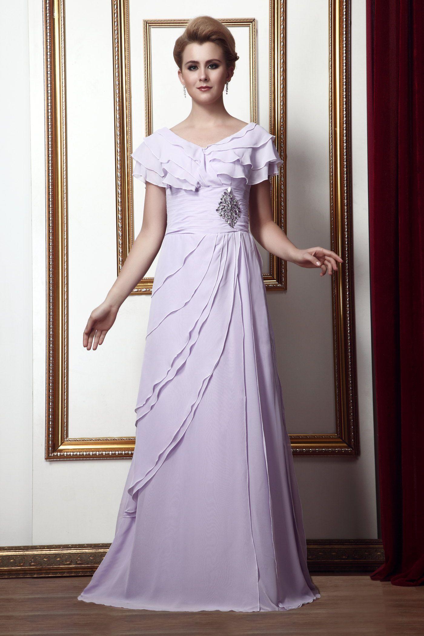 Short sleeve dresses for wedding guests  mubridal SUPPLIES Short Sleeves Elegant u Luxurious Aline