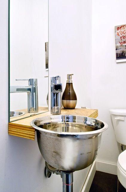 Badezimmer Spüle | Bad | Pinterest | Modern powder rooms, Salad ...